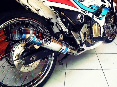 Knalpot I-One Racing Satria FU