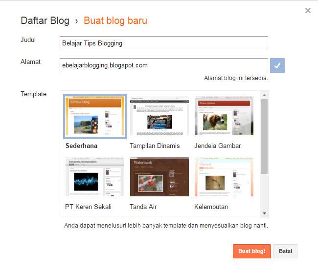 daftar blogger