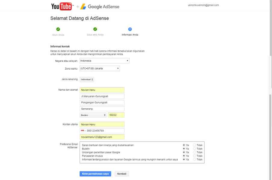 Paduan Memulai Mendapatkan Uang Dari Youtube