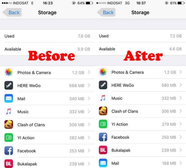 Tutorial Membersihkan Cache iPhone Tanpa Aplikasi, How to Clean Cache iOS iPhone