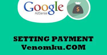 Setting Payment Adsense Google