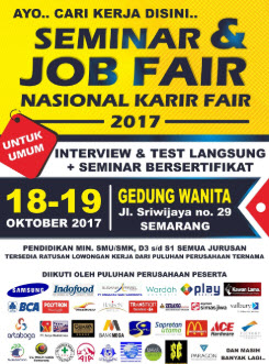 menunggu panggilan Job Fair
