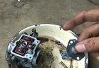 cara bersihkan karburator satria fu